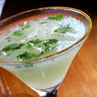 Minty Pear Martini Recipe