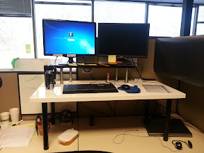 Photo: My Brother's Stand Up Desk