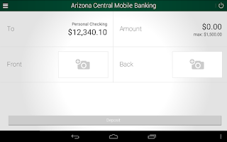Screenshot of ACCU Mobile