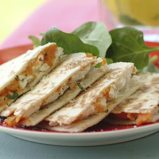 Spiced Sweet Potato Quesadillas