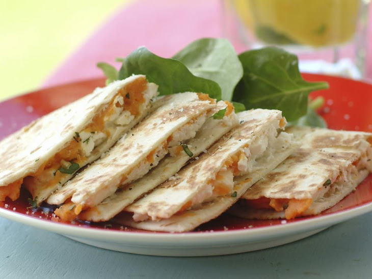 Spiced Sweet Potato Quesadillas Recipe