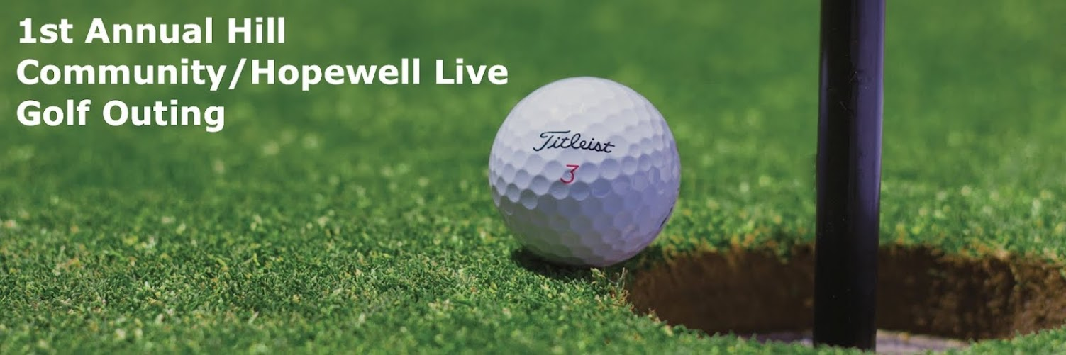 1st Annual Hill Community/Hopewell Live Golf Outing