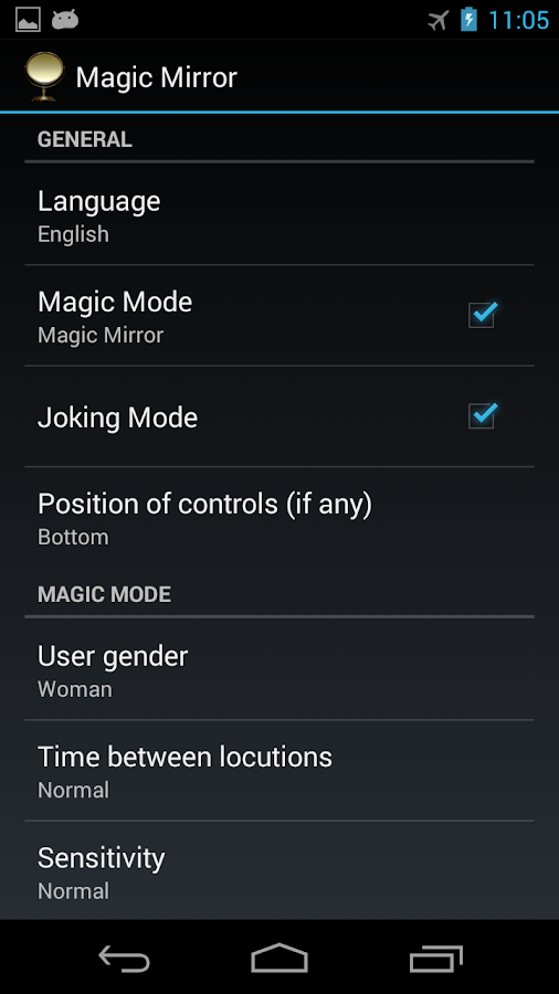 Magic Mirror HD- screenshot