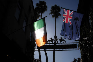 Photo: Flags La Arcada Santa Barbara USA