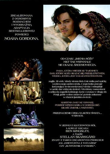 Tył ulotki filmu 'Medicus'