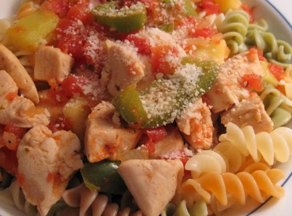 Kitty's Low Calorie Chicken & Vegetables Recipe