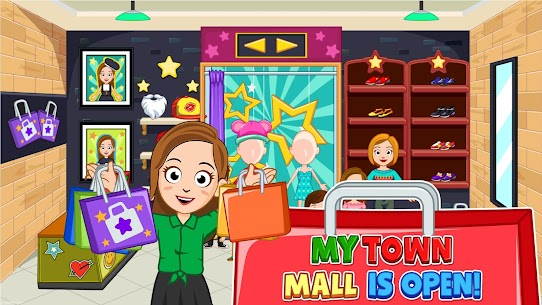 My Town : Shopping Mall Free (Unlimited Money) 5