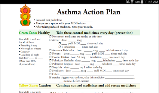 Our Journey with Asthma- screenshot thumbnail