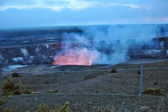 Photo: Halema'uma'u bagliori di lava