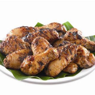 Fried Chicken Wings Satay