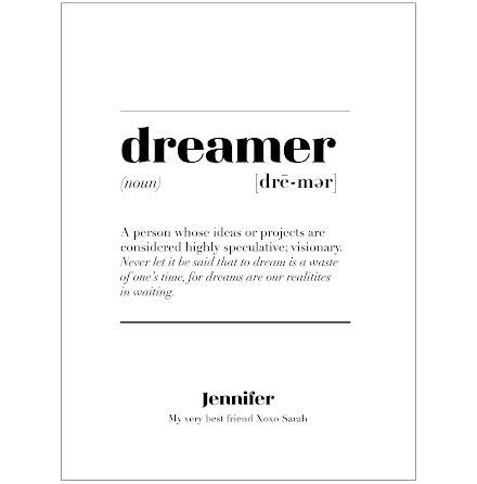 DREAMER IS