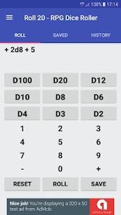 Roll20 Apk App Free RPG Dice Calculator 1