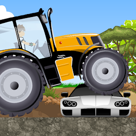 трактор гоночной мощности ферм