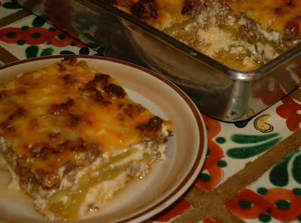 Spring Hill Ranch's Gringo Green Chile Casserole Recipe
