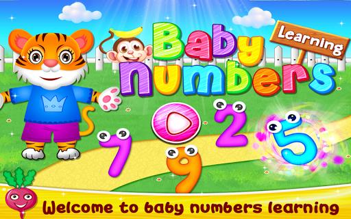 Baby Numbers Learning Game for Preschoolers & Kids 1.0 screenshots 1