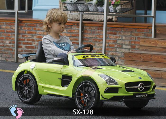 Xe hơi điện trẻ em SX-128 ghế da 7