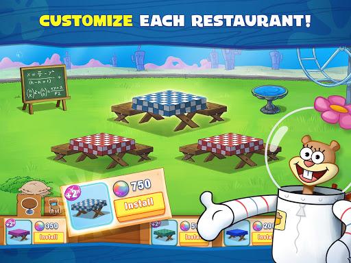 SpongeBob: Krusty Cook-Off android2mod screenshots 15