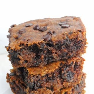Chocolate Chip Almond Butter Bars (vegan + gluten-free).