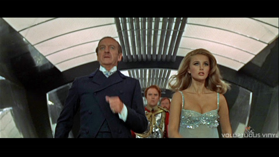 David Niven and Barbara Bouchet in Casino Royale