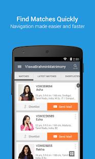 ViswaBrahminMatrimony - Trusted matrimony app - náhled