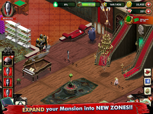Addams Family: Mystery Mansion - The Horror House! filehippodl screenshot 14