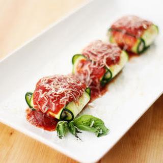 Sausage Zucchini Ravioli.