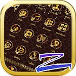 Luxury Gold Theme-ZEROLauncher