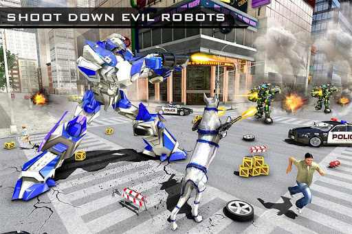 US Police Robot Dog - Police Plane Transporter 1.1 screenshots 6