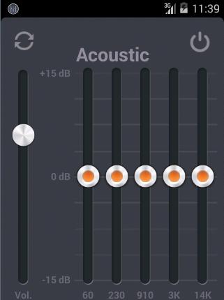 Acoustic Equalizer