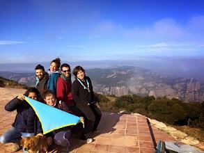Photo: Uns quants caps del Gaudí al cim de la Mola (1.102m).