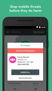Lookout Security & Antivirus- screenshot thumbnail