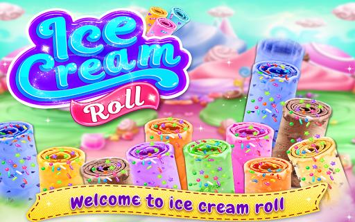 Télécharger Gratuit Ice Cream Roll - Stir-fried Ice Cream Maker Game  APK MOD (Astuce) screenshots 1