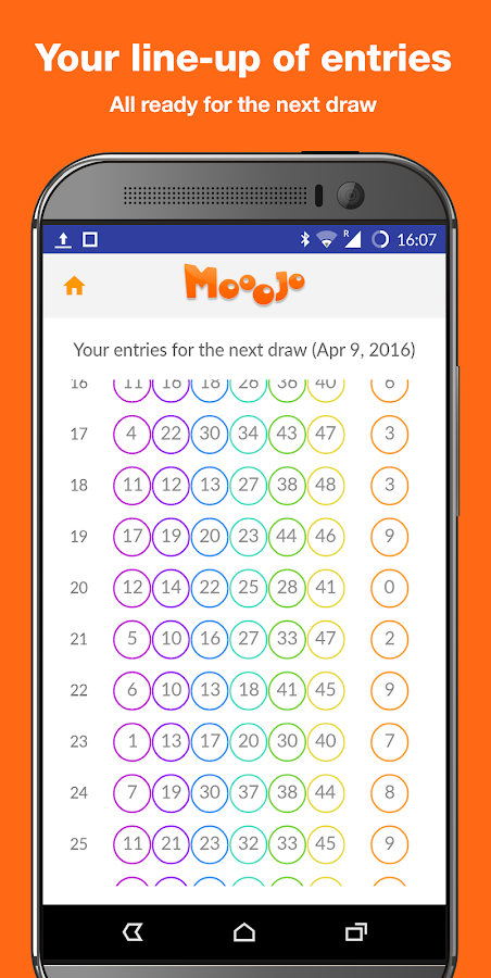 Mooojo - FREE Lottery Game- screenshot