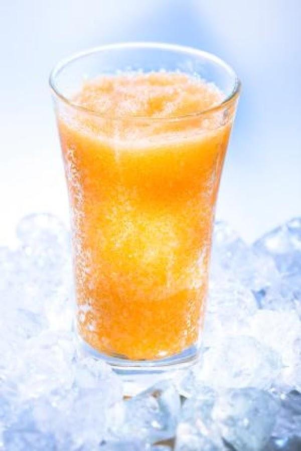 Fuzzy Navel Slush Recipe