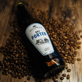 Against The Grain by Tanya Greene - Uncategorized All Uncategorized ( product photography, beer, wood, beverage, espresso, alcohol, coffee )