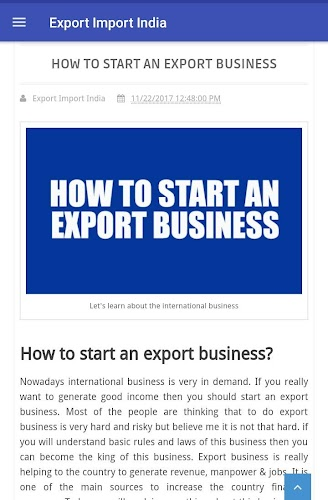 Download Export Import India APK latest version app by