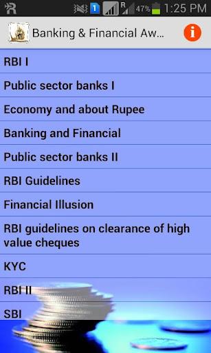 Banking Financial Awareness