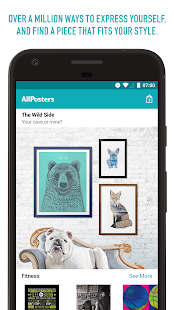 AllPosters: Art, T-Shirts, Gifts, & More- screenshot thumbnail