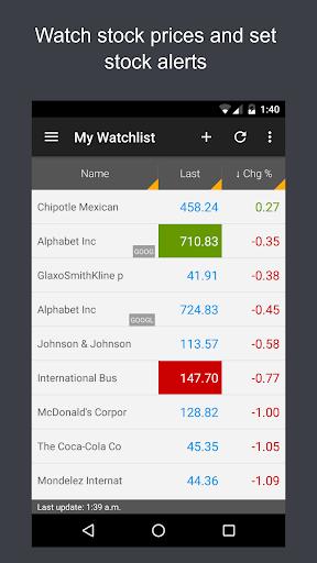 ? ? JStock - Stock Market & U.S. Investing screenshot 4