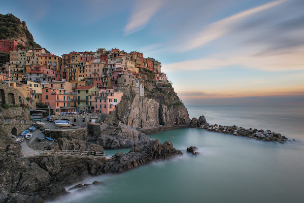 Long exposition Manarola
