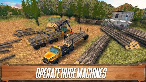 Sawmill Driver: Logging Truck & Forest Harvester  screenshots 10
