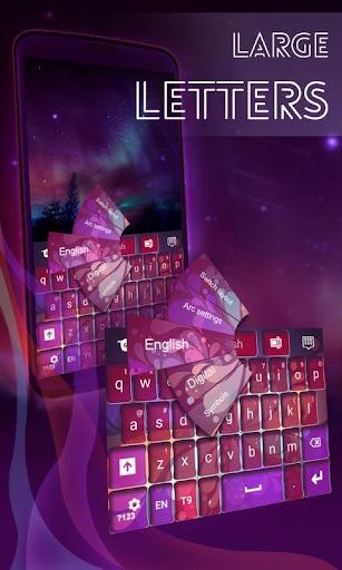 Large Letters Keyboard