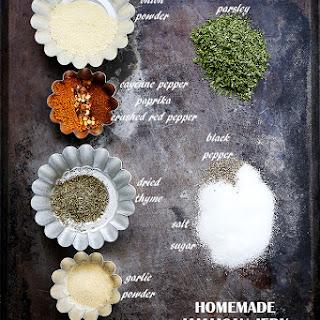 Homemade Jamaican Jerk Seasoning.