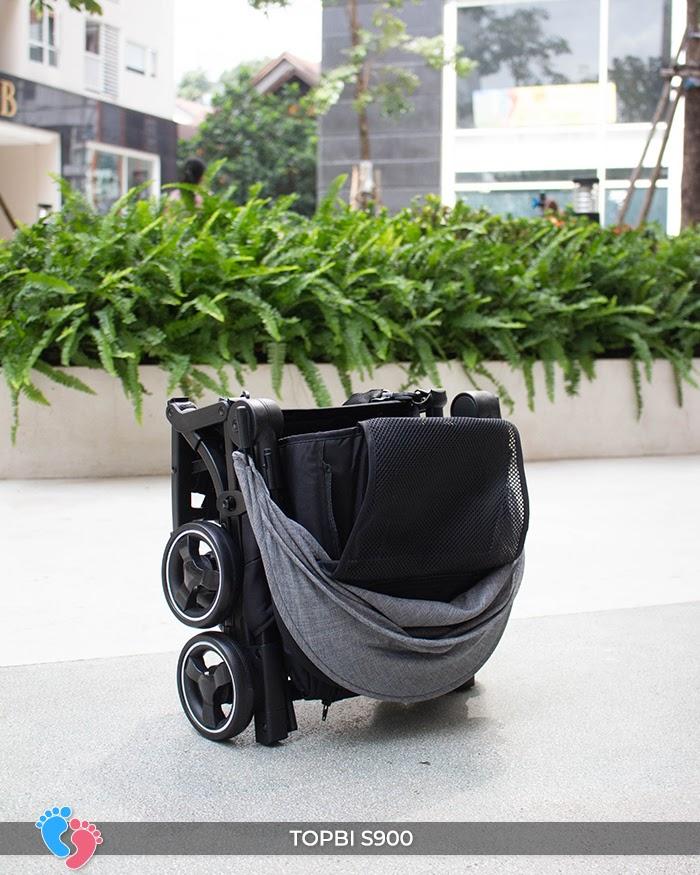 Xe đẩy cao cấp Topbi S900 10