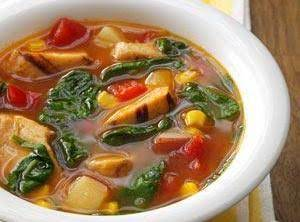 All Day Chicken Vegetable Soup