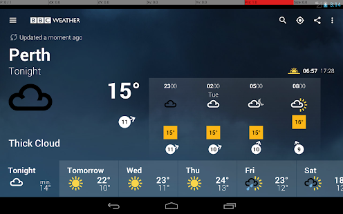 BBC Weather- screenshot thumbnail