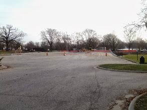 Photo: Parking Lot ready for asphalt 11-20-2013