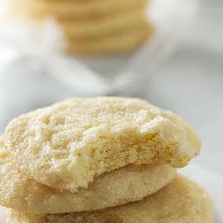 Soft Vanilla Bean Sugar Cookies.
