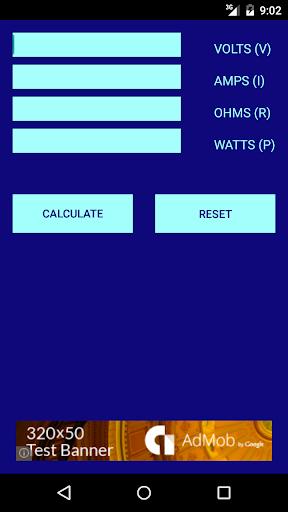 Ohm - Power Calculator
