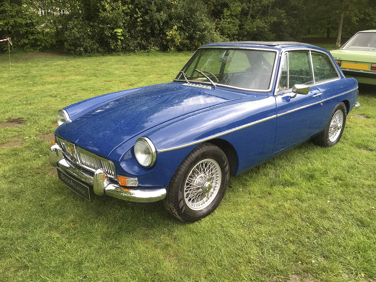 MG B GT Hire Manchester